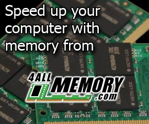 Speed up your computer with memory from 4allmemory.com